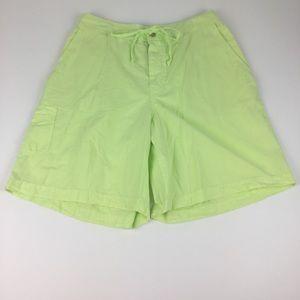Fresh Produce Broadcloth Walking Shorts Size Small
